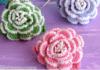 Tutorial on flower crochet in 3D