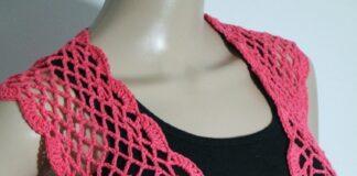 Coral Flower Bolero Crochet Tutorial