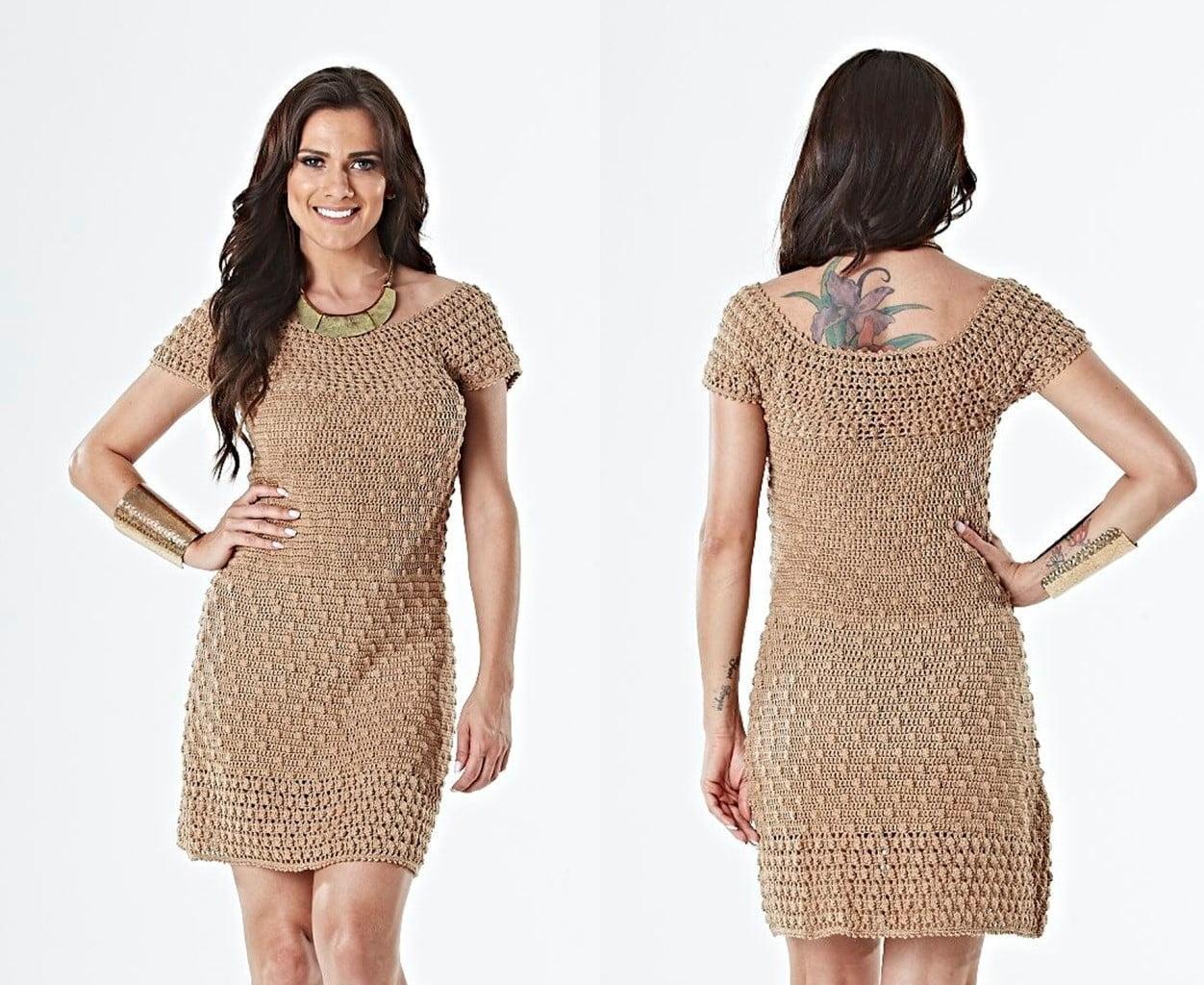 Tutorial on Crochet Elegant Dress