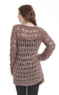 Pullover Crochet Tunic Tutorial