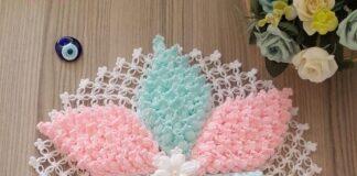 Tutorial on Crochet Flower Doily
