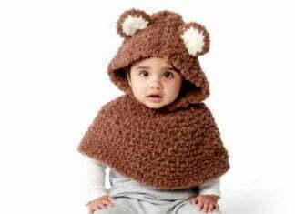 Crochet Bernart Beat Cub Poncho Pass