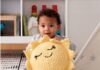Tutorial on crochet cushion Bernat Sunshine