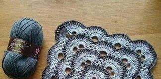 Crochet virus blanket