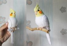 Crochet Bird Parrot Pattern